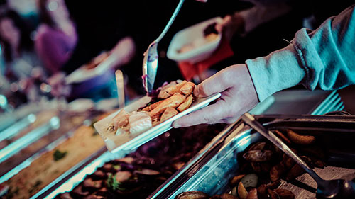 Céges-buli-catering